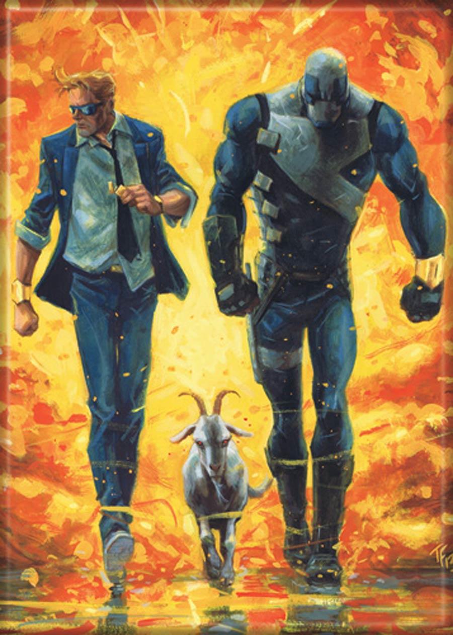 Valiant Comics 2.5x3.5-inch Magnet - Quantum And Woody 9 (71624V)