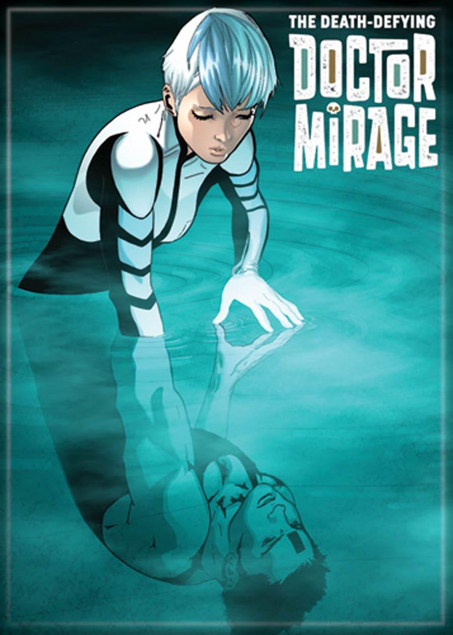 Valiant Comics 2.5x3.5-inch Magnet - Dr Mirage 2 (71635V)