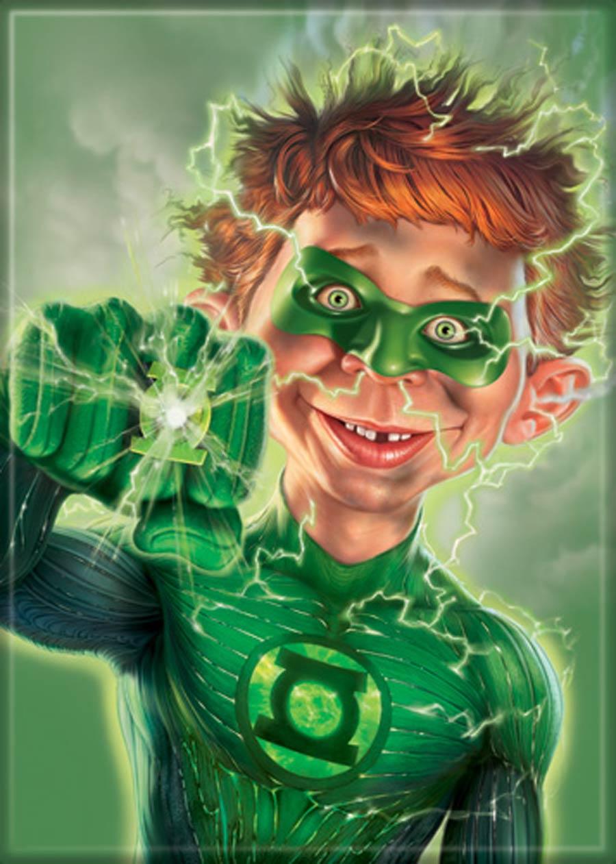 MAD Magazine 2.5x3.5-inch Magnet - Green Lantern (71794SV)