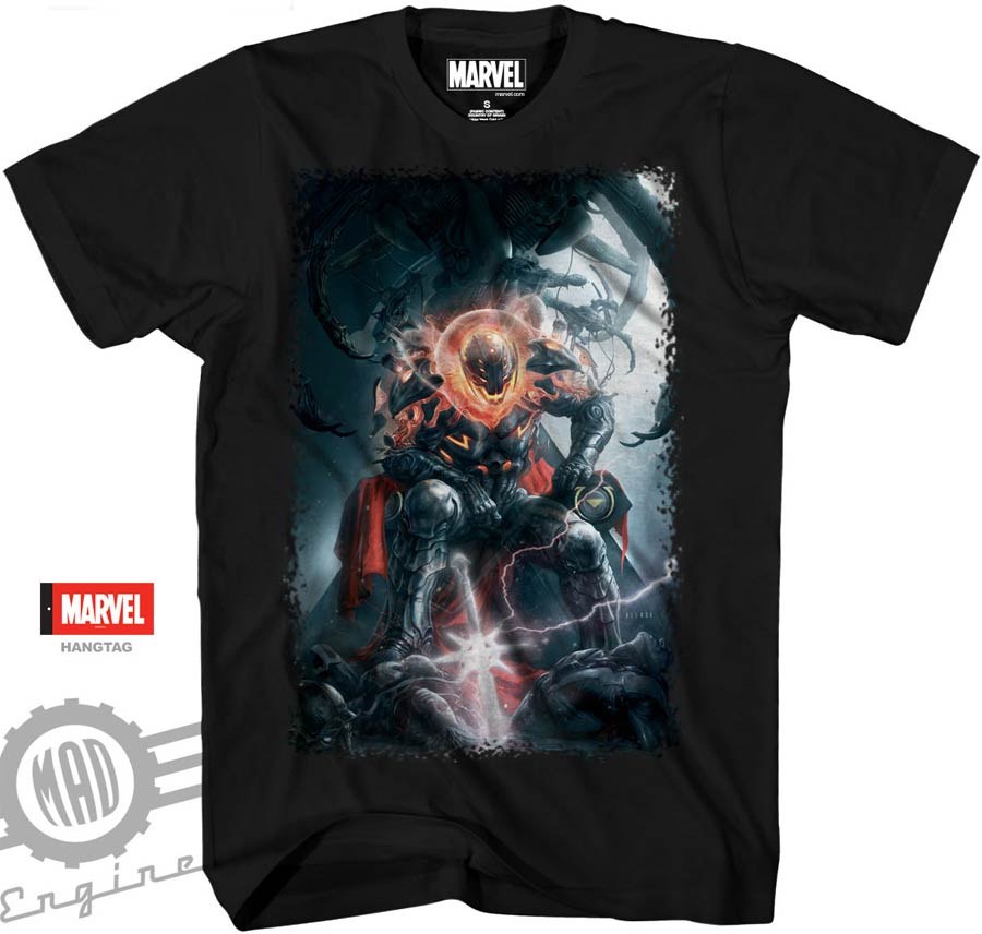 Avengers Ultron By Aleksi Briclot Midtown Exclusive T-Shirt Large