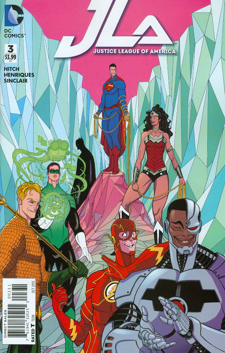 Justice League Of America Vol 4 #3 Cover C Incentive Tradd Moore Variant Cover