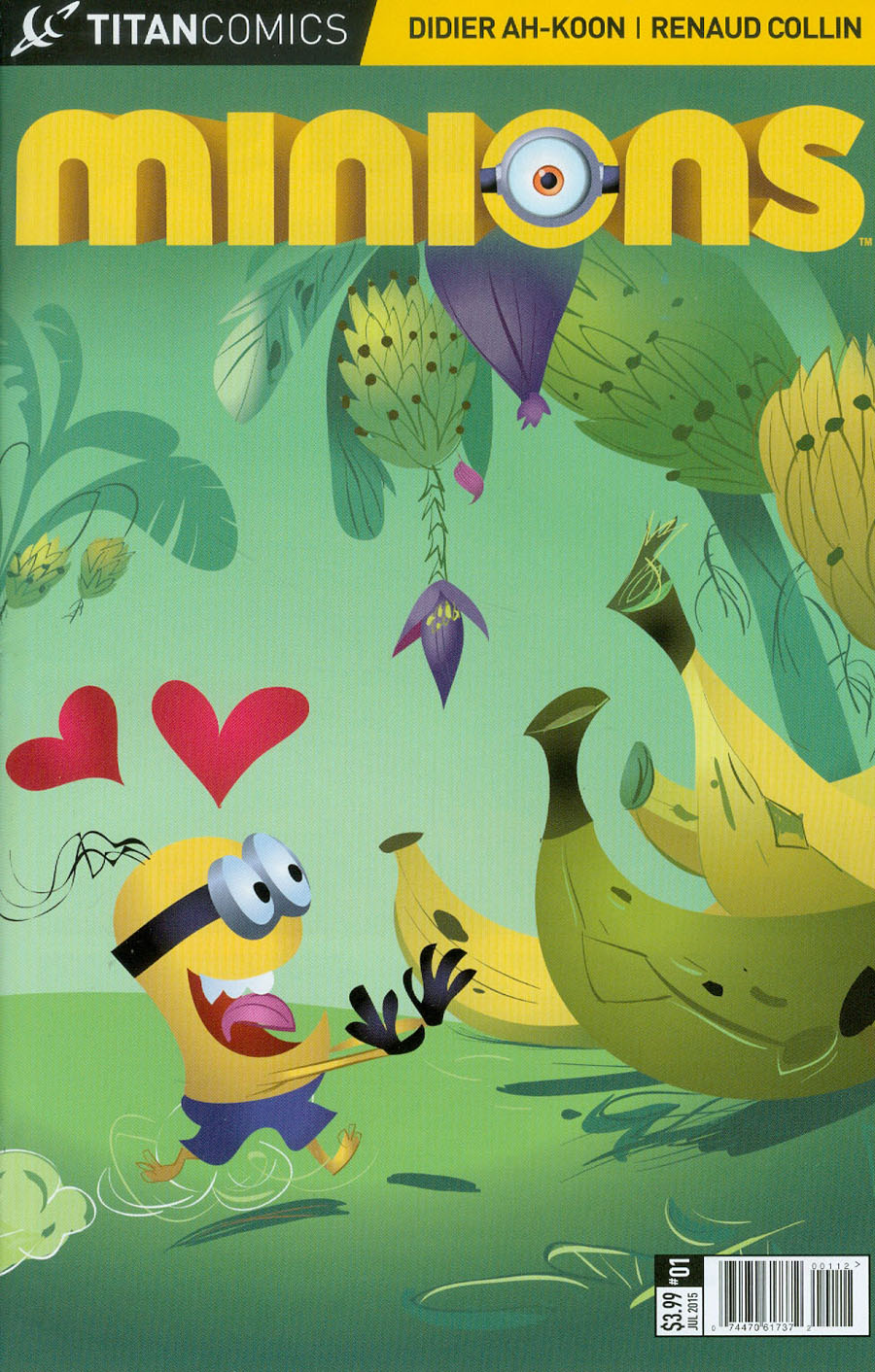 Minions #1 Cover B 2nd Ptg Renaud Collin Variant Cover