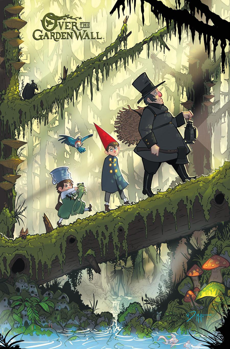Over The Garden Wall #1 Cover E Incentive Michael DiMotta Virgin Variant Cover