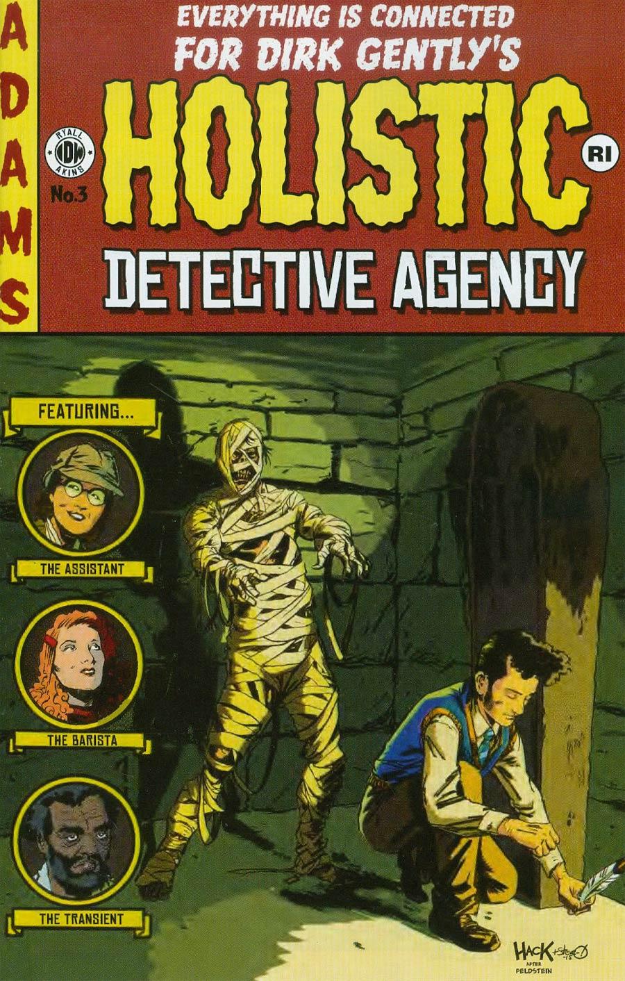 Dirk Gentlys Holistic Detective Agency #3 Cover C Incentive Robert Hack EC Comics Variant Cover