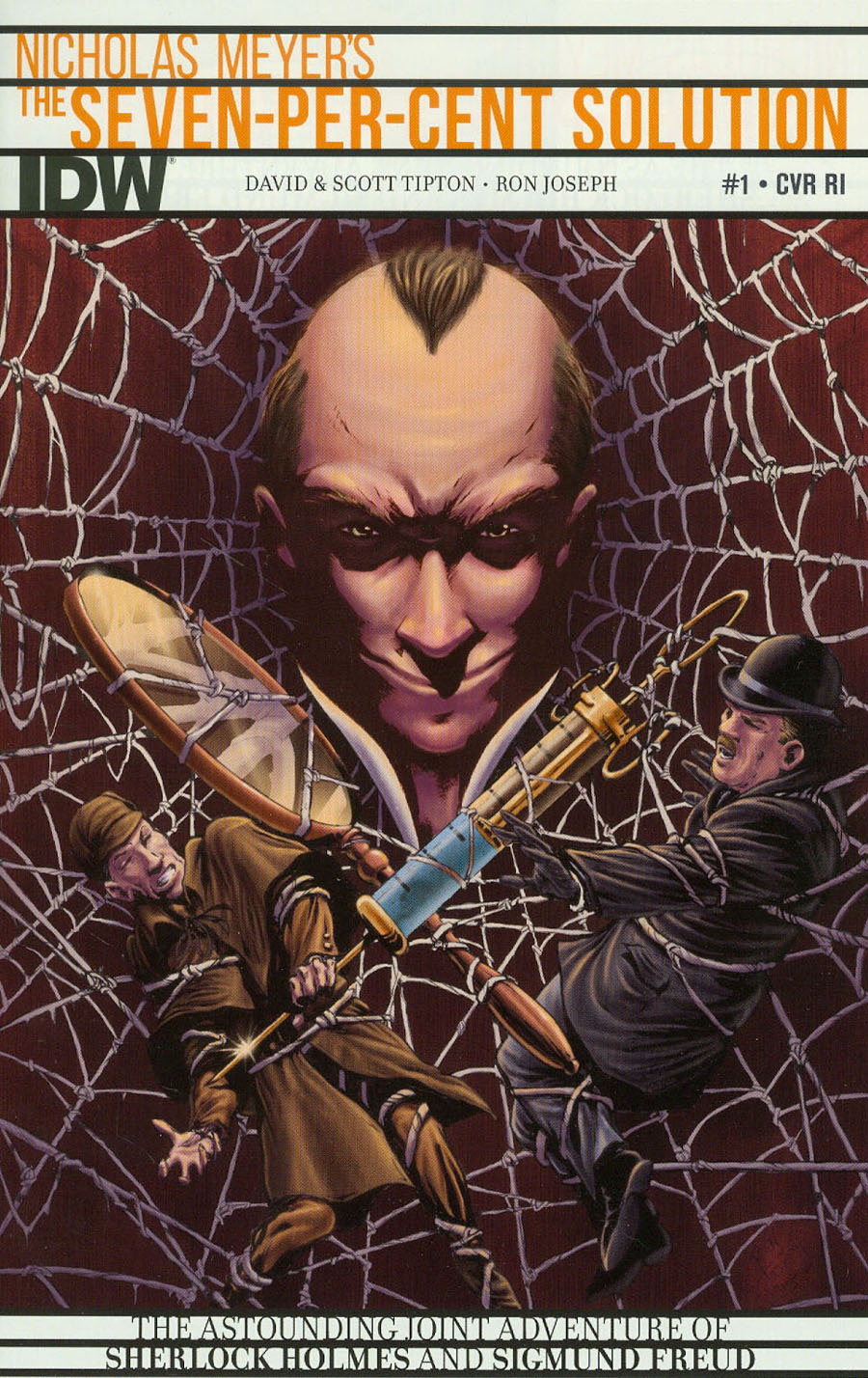 Sherlock Holmes Seven-Per-Cent Solution #1 Cover C Incentive Ron Joseph Variant Cover