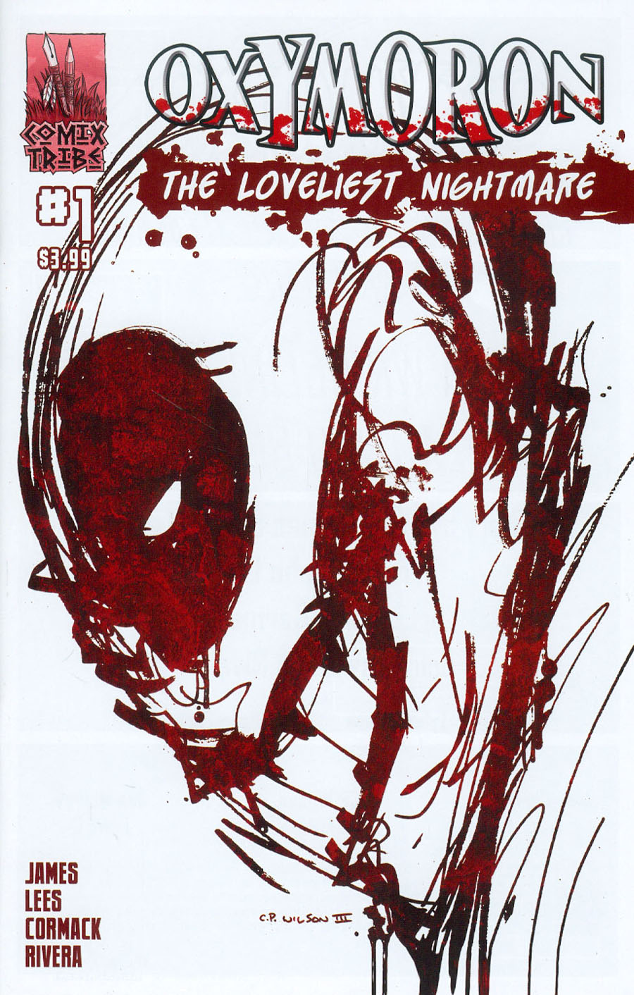 Oxymoron Loveliest Nightmare #1 Cover B CP Wilson III