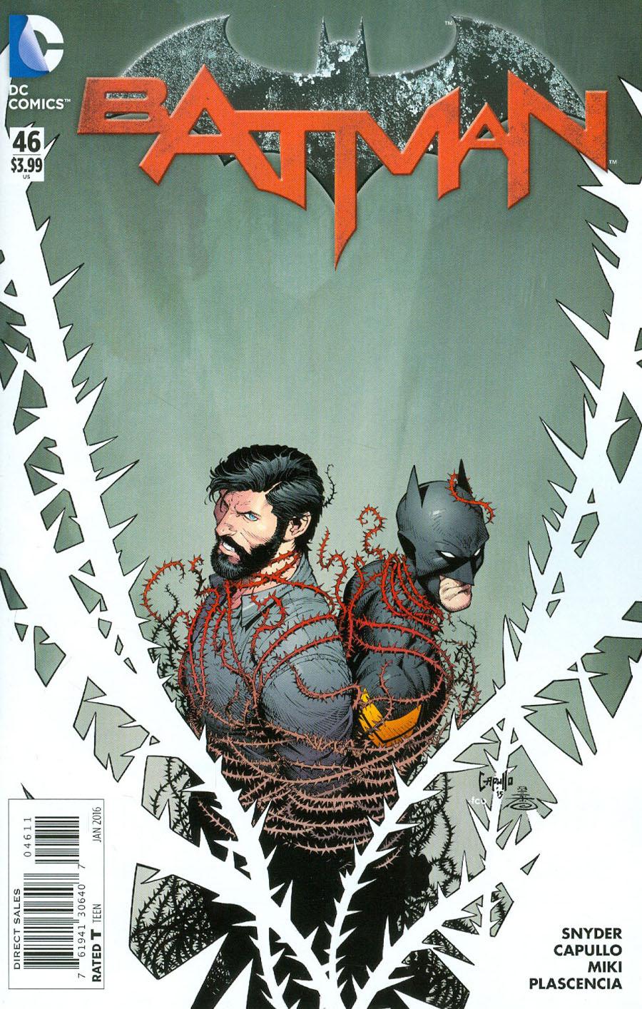 Batman Vol 2 #46 Cover A Regular Greg Capullo Cover