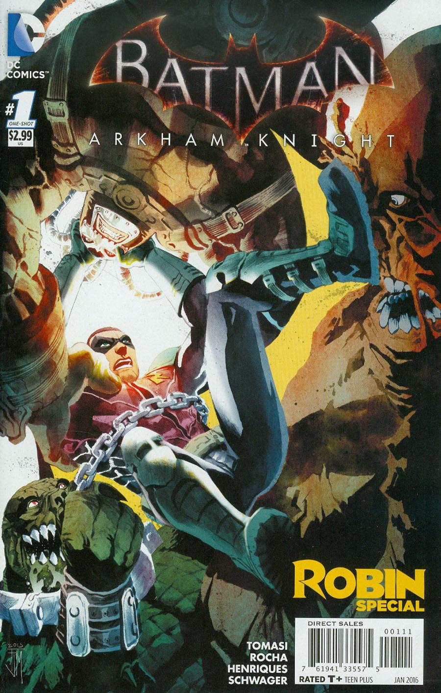 Batman Arkham Knight Robin Special #1