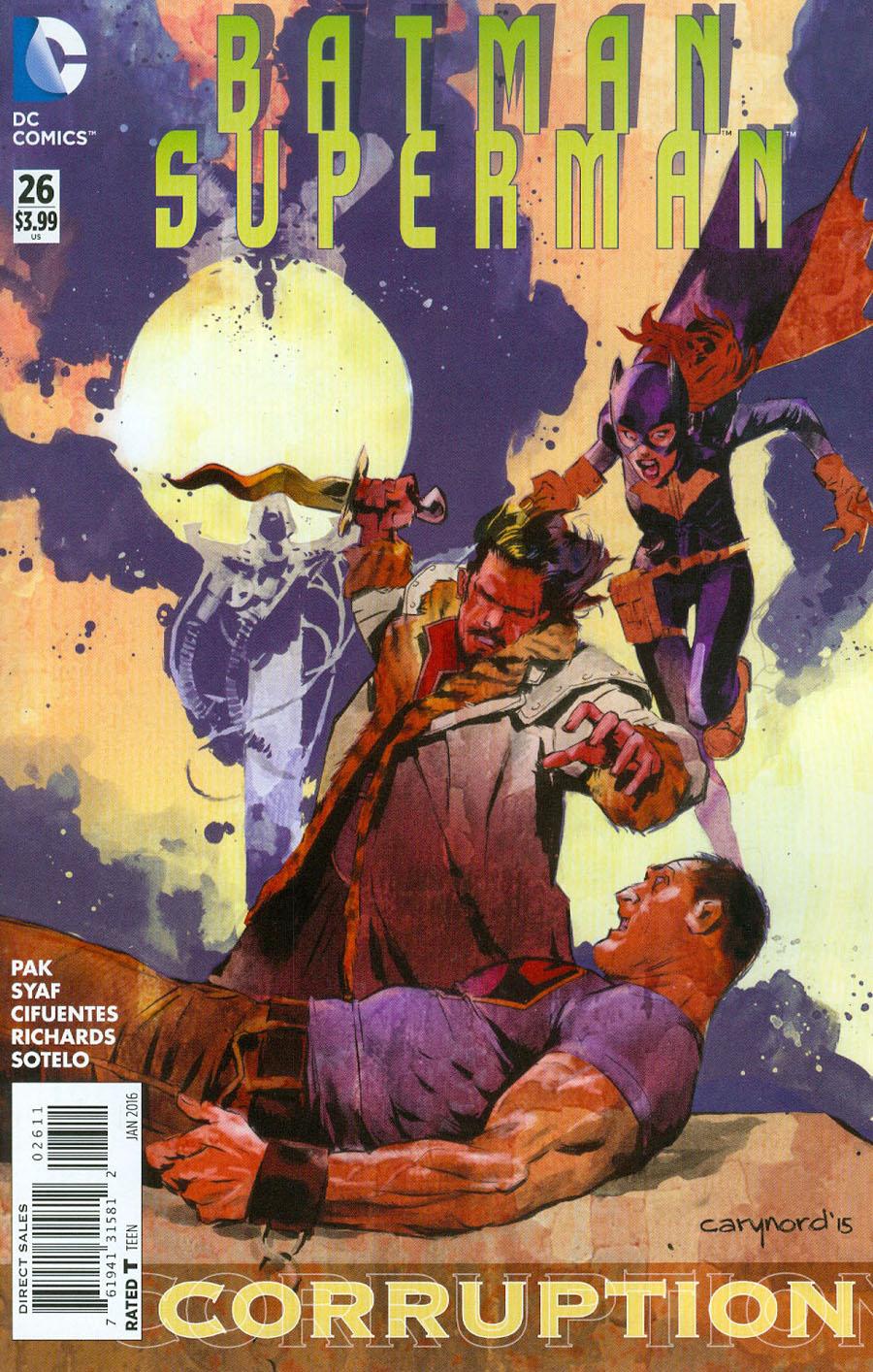 Batman Superman #26 Cover A Regular Cary Nord Cover