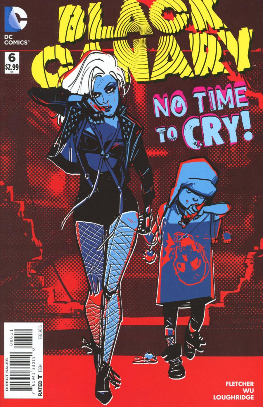 Black Canary Vol 4 #6 Cover A Regular Annie Wu Cover