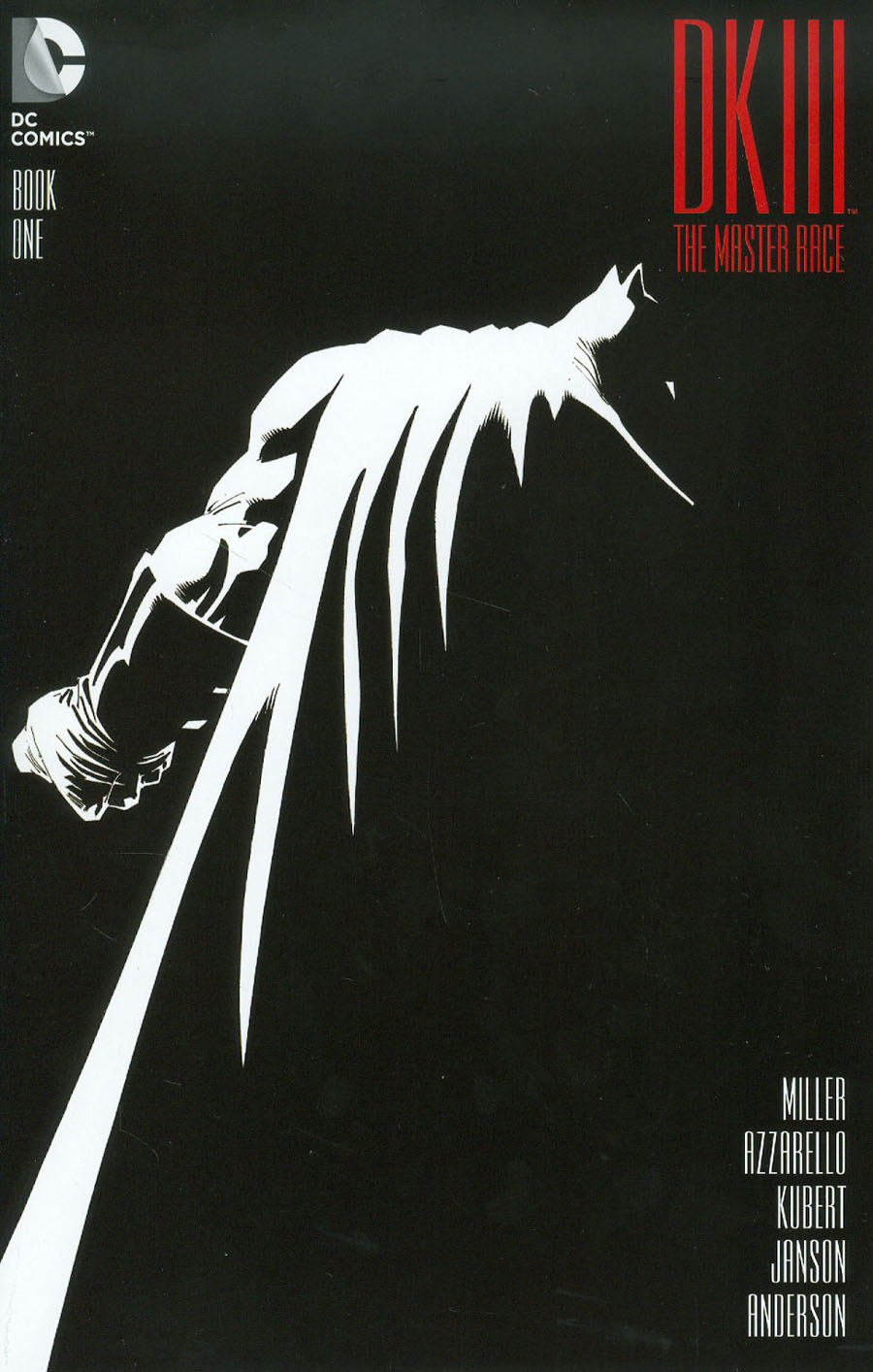 Dark Knight III The Master Race #1 Cover A Regular Andy Kubert Cover
