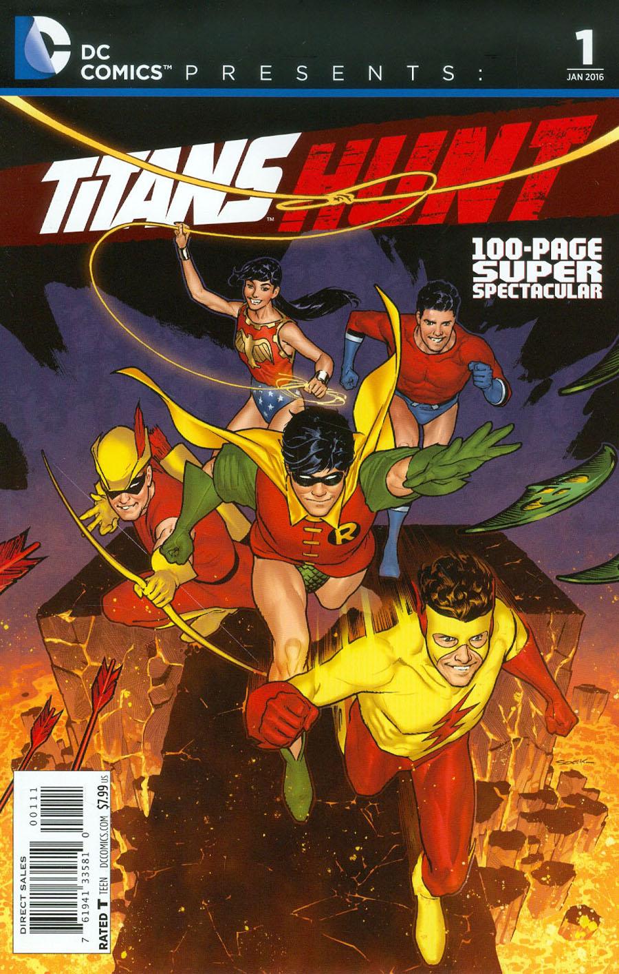 DC Comics Presents Titans Hunt 100-Page Super Spectacular #1