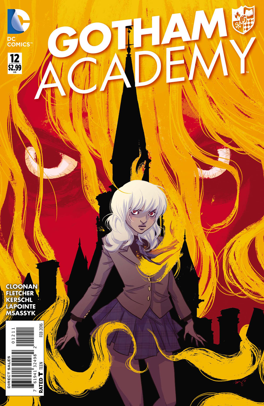 Gotham Academy #12