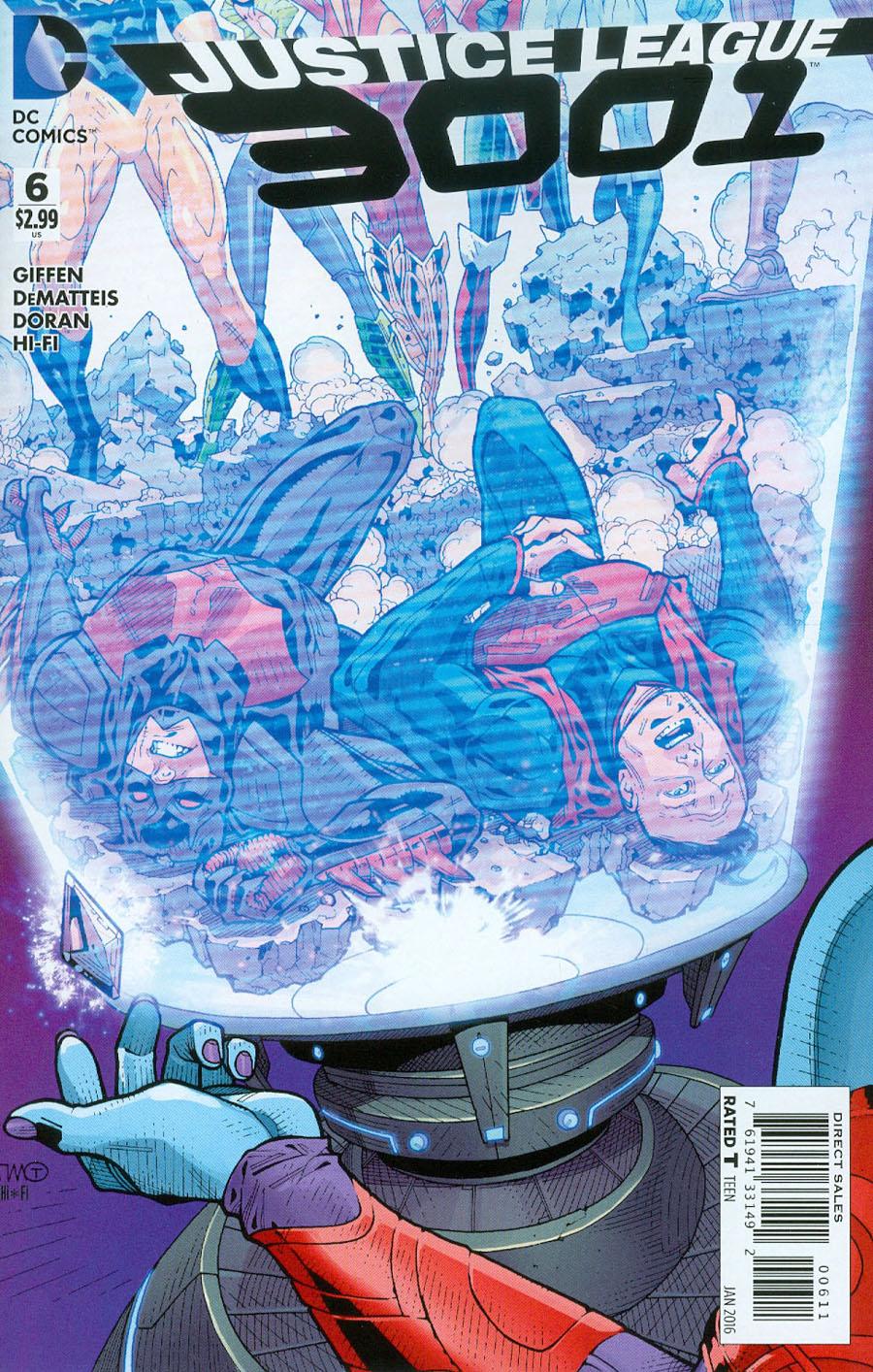 Justice League 3001 #6