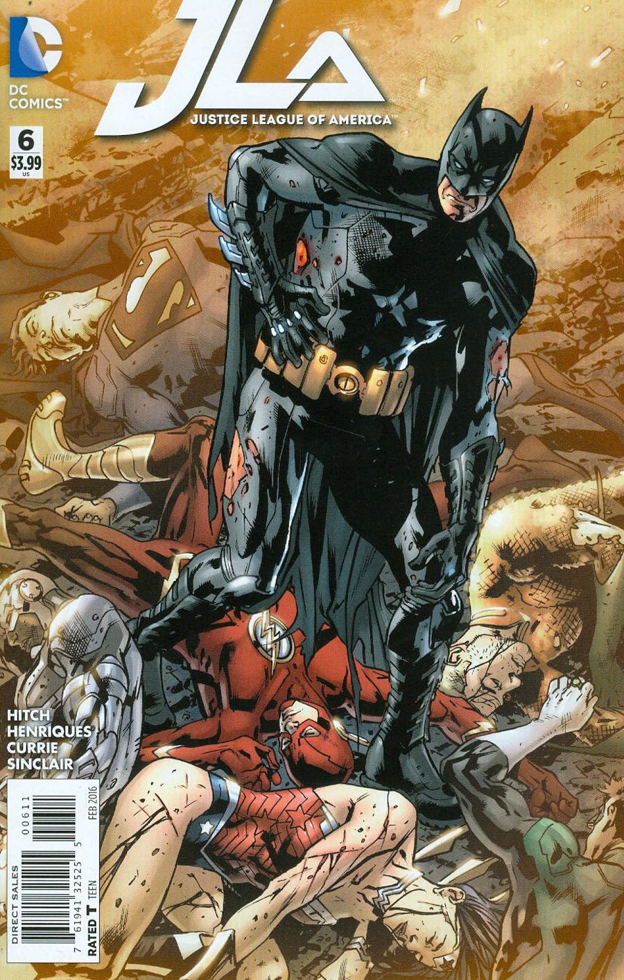 Justice League Of America Vol 4 #6 Cover A Regular Bryan Hitch Cover