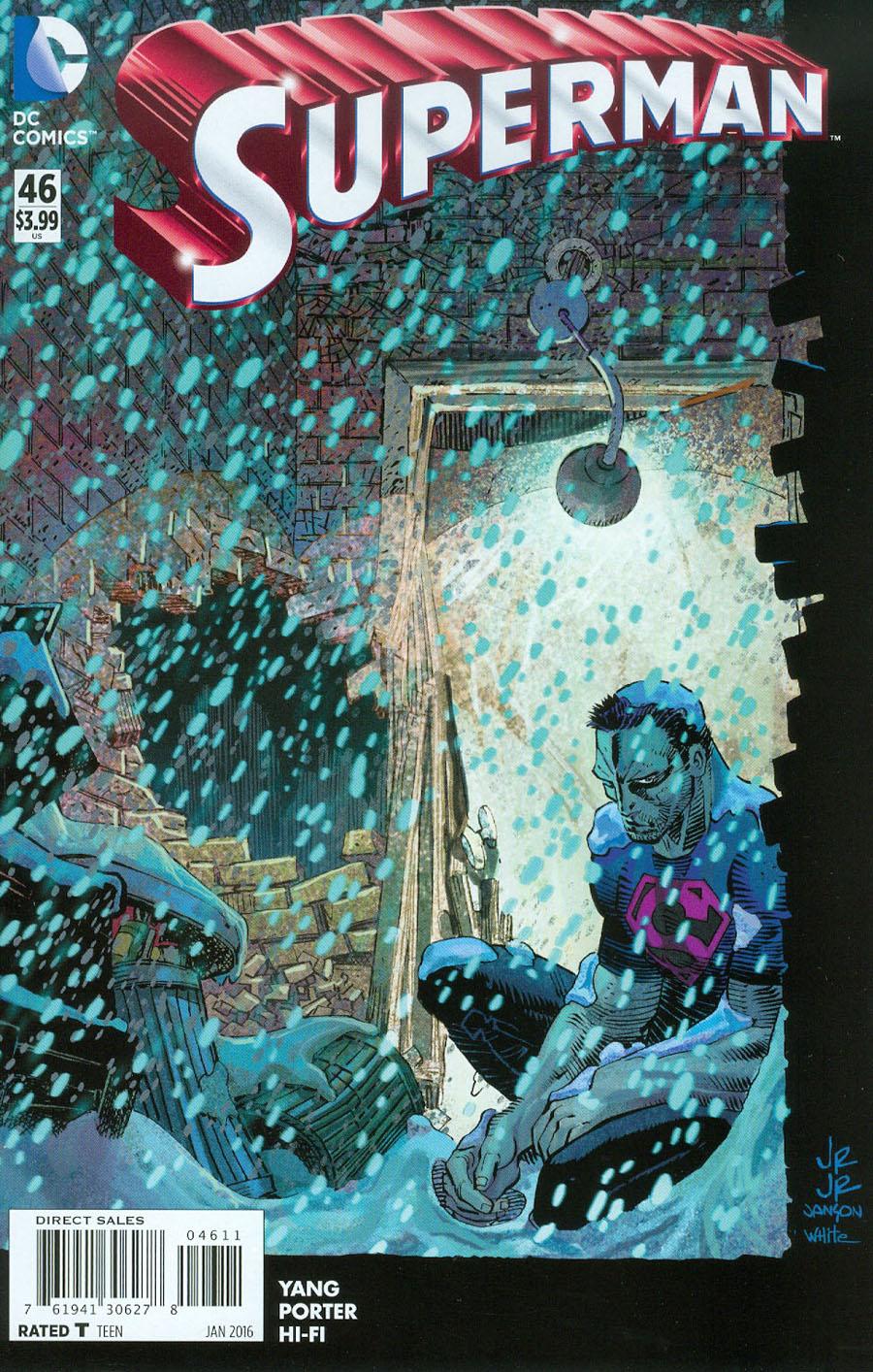Superman Vol 4 #46 Cover A Regular John Romita Jr Cover