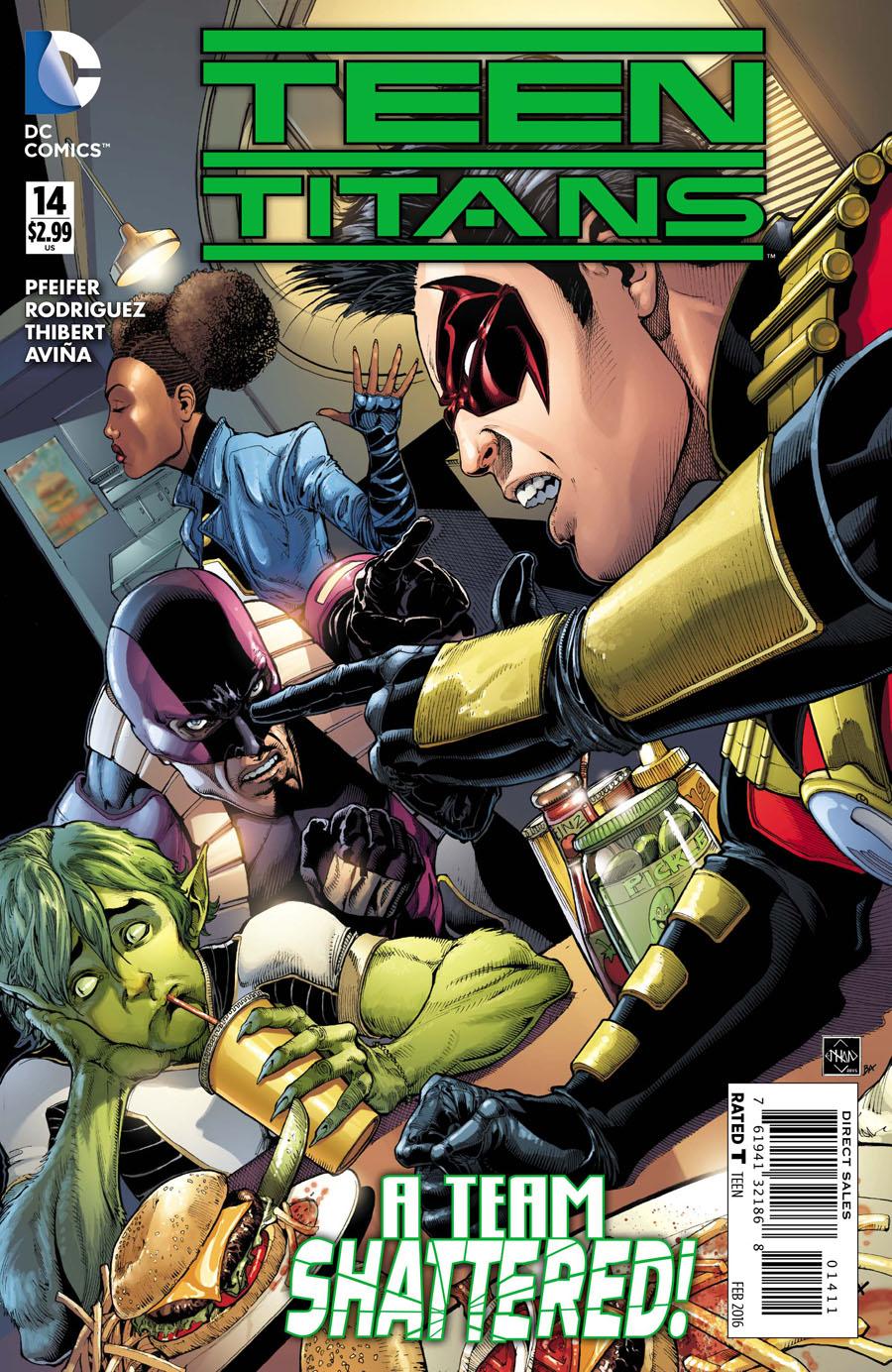 Teen Titans Vol 5 #14 Cover A Regular Ethan Van Sciver Cover