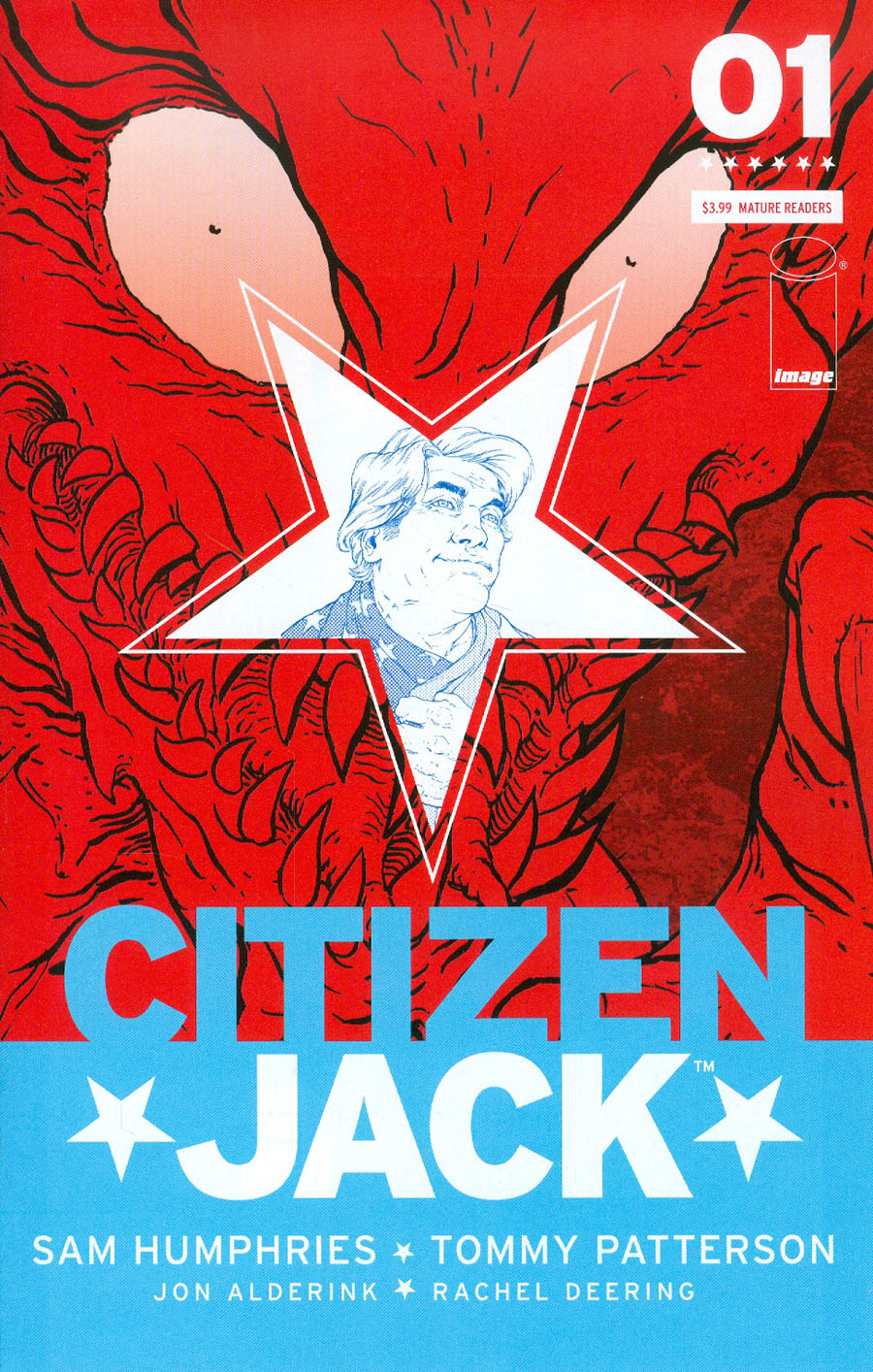 Citizen Jack #1 Cover A Regular Tommy Patterson Cover
