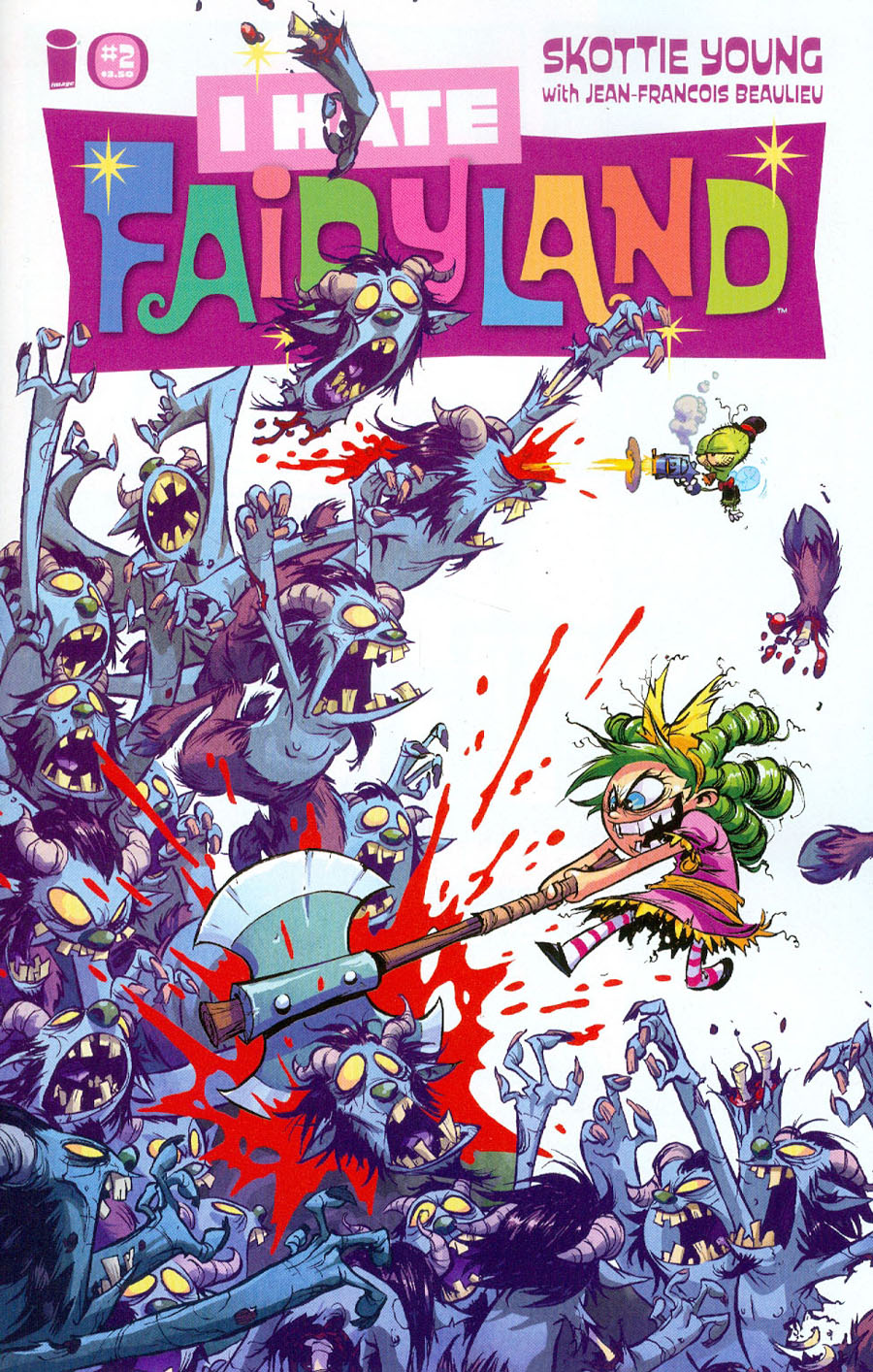 I Hate Fairyland #2 Cover A Regular Skottie Young Cover