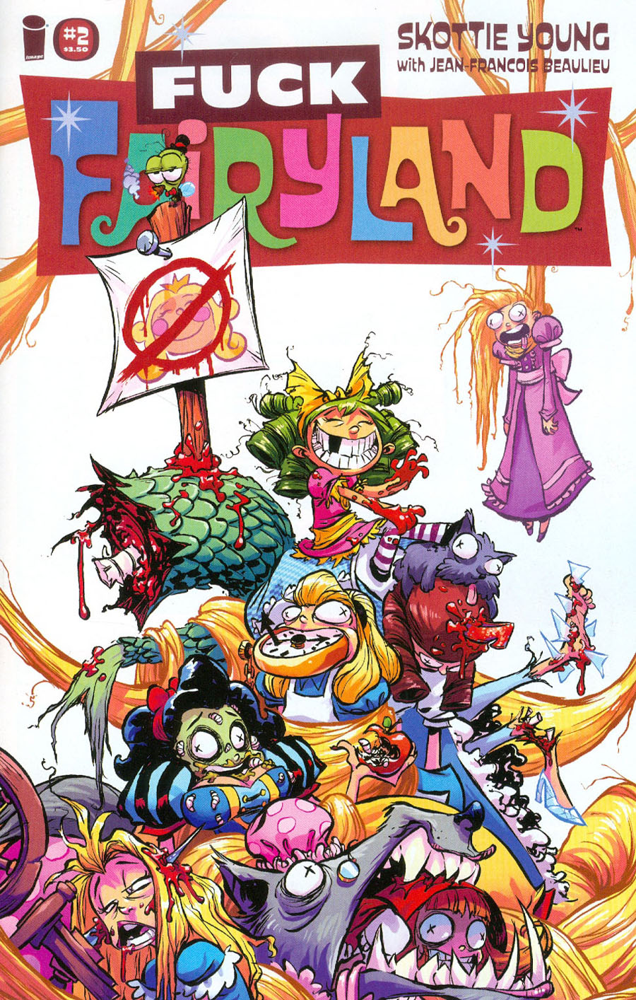 I Hate Fairyland #2 Cover B Variant Skottie Young Cover
