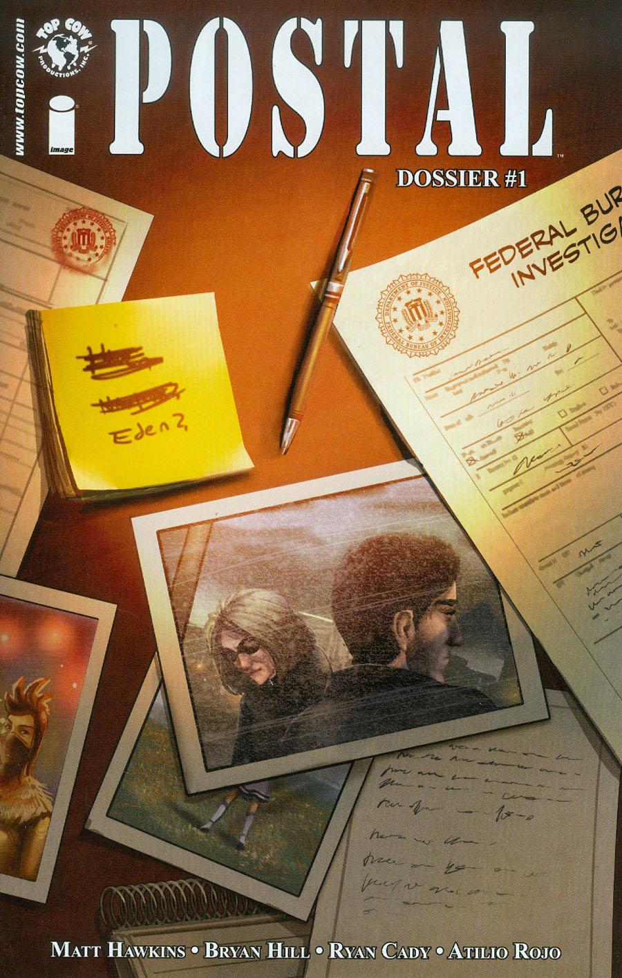 Postal FBI Dossier #1 Cover A Linda Sejic