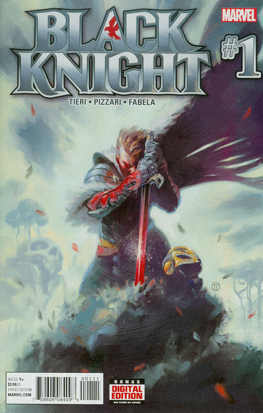 Black Knight Vol 4 #1 Cover A Regular Julian Totino Tedesco Cover