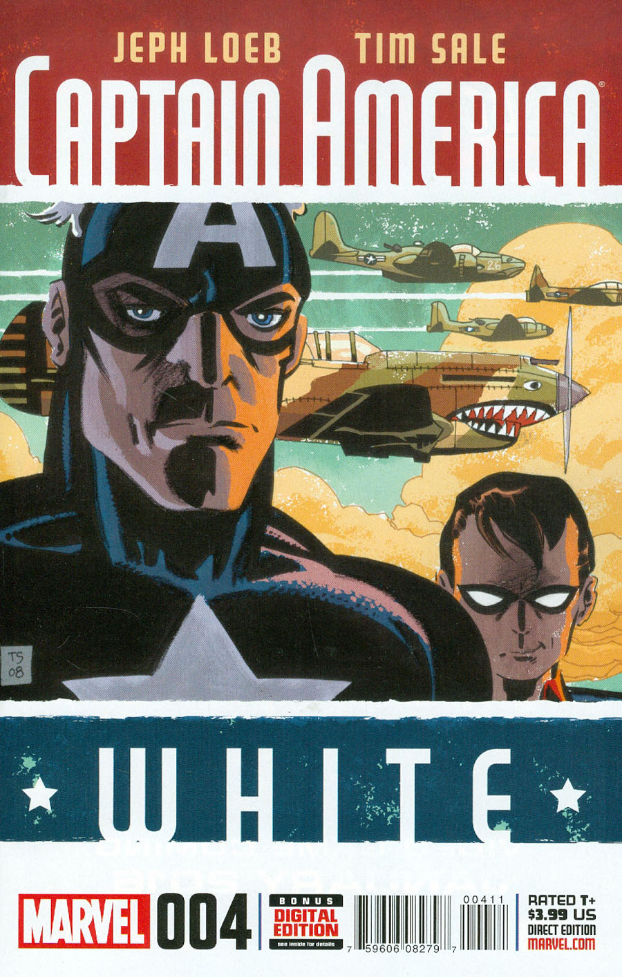 Captain America White #4