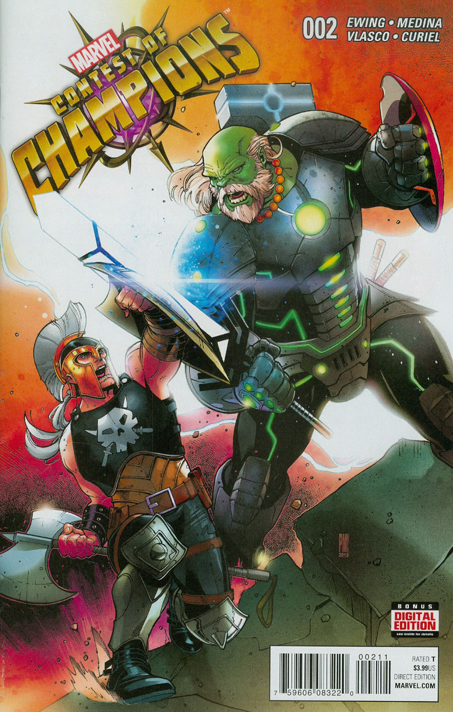 Contest Of Champions Vol 3 #2 Cover A Regular Paco Medina Cover