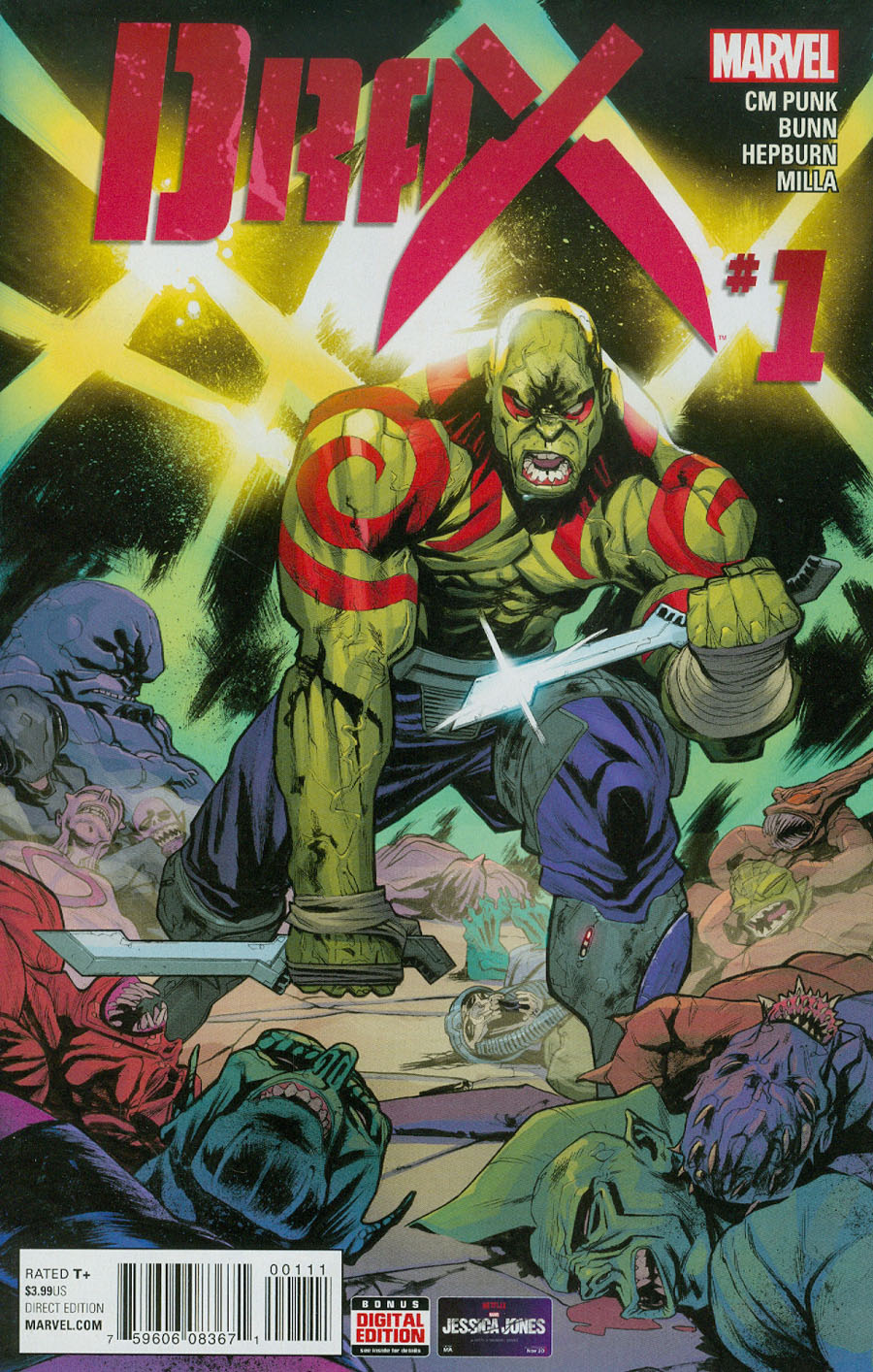Drax #1 Cover A Regular Scott Hepburn Cover