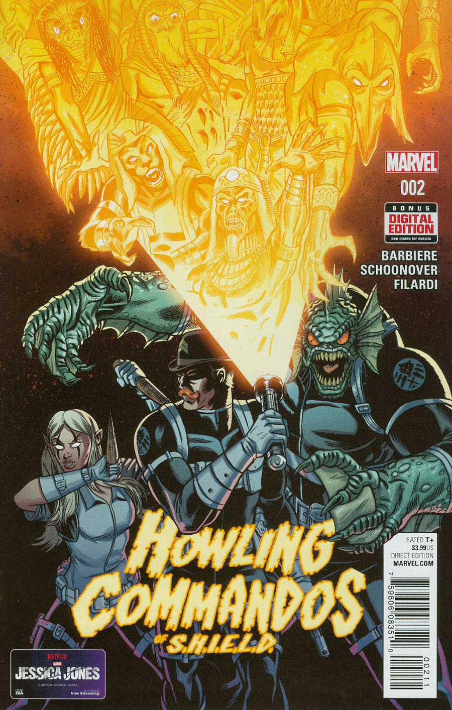 Howling Commandos Of S.H.I.E.L.D. #2 Cover A Regular Brent Schoonover Cover