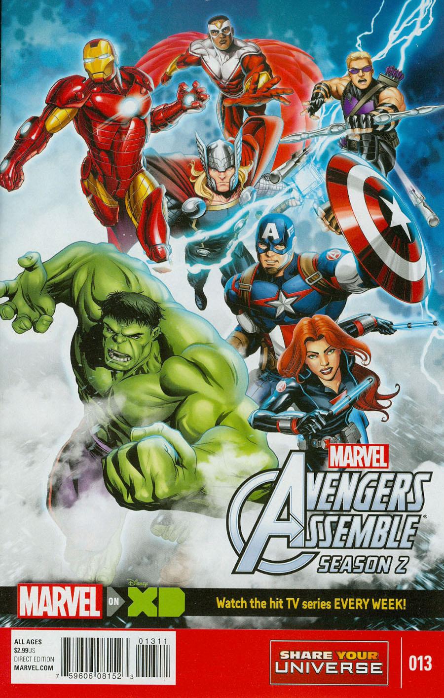 Marvel Universe Avengers Assemble Season 2 #13