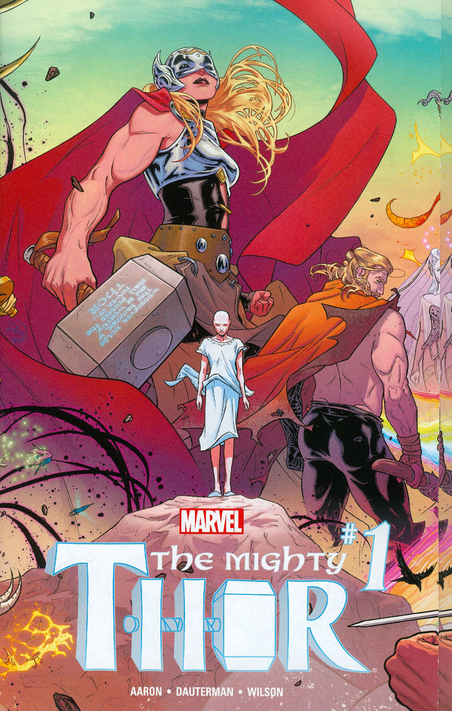 Mighty Thor Vol 2 #1 Cover A Regular Russell Dauterman Wraparound Gatefold Cover