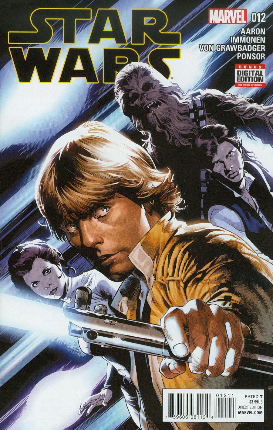 Star Wars Vol 4 #12 Cover A Regular Stuart Immonen Cover