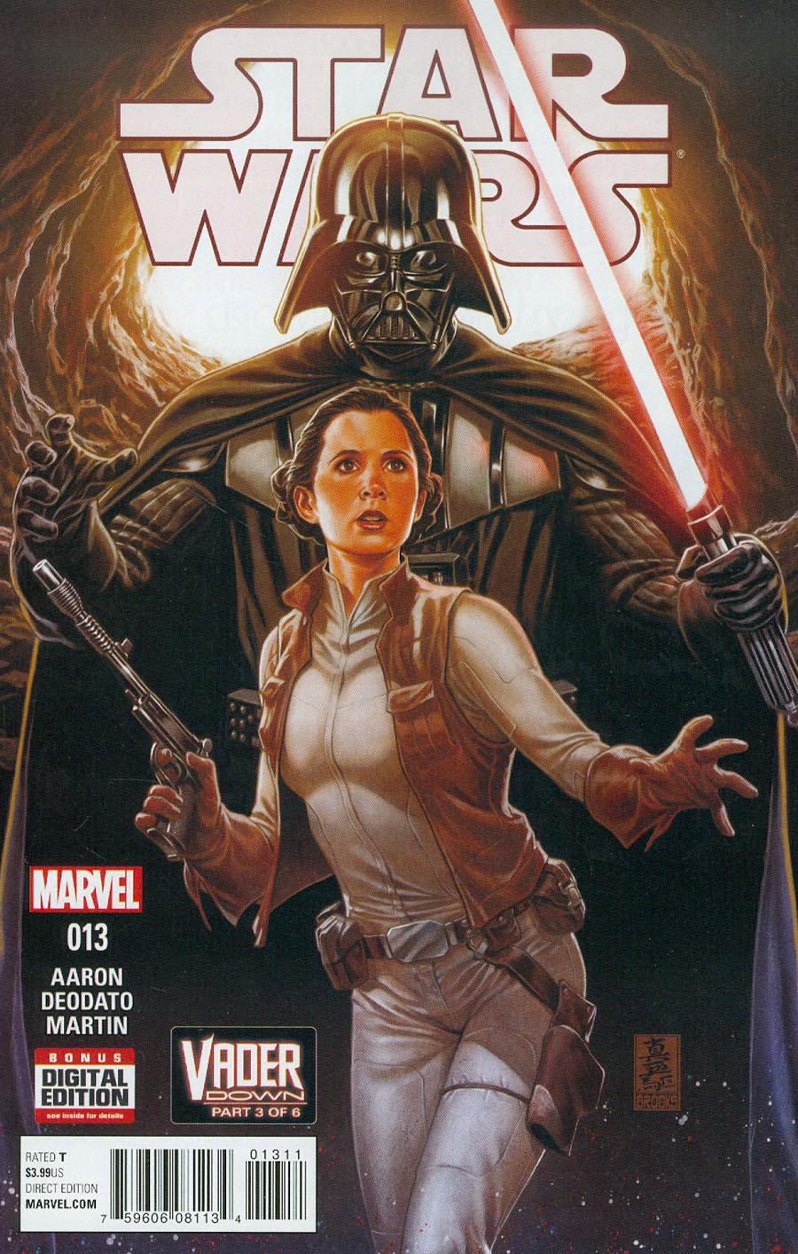 Star Wars Vol 4 #13 Cover A 1st Ptg Regular Mark Brooks Cover (Vader Down Part 3)
