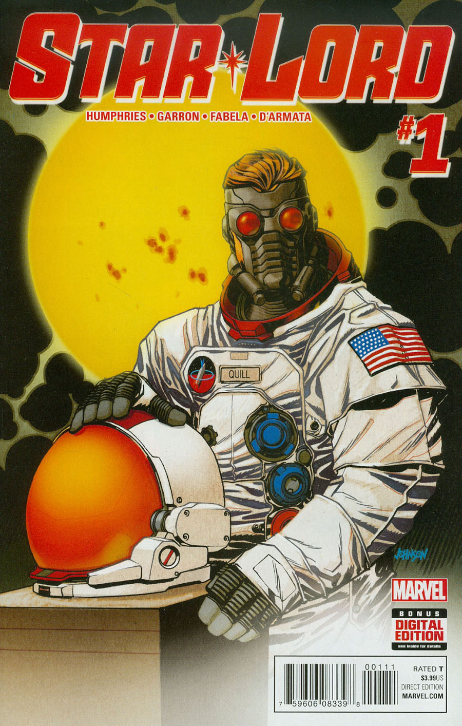 Star-Lord Vol 2 #1 Cover A Regular Dave Johnson Cover