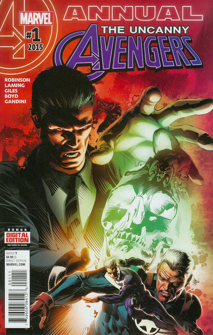 Uncanny Avengers Vol 3 Annual #1