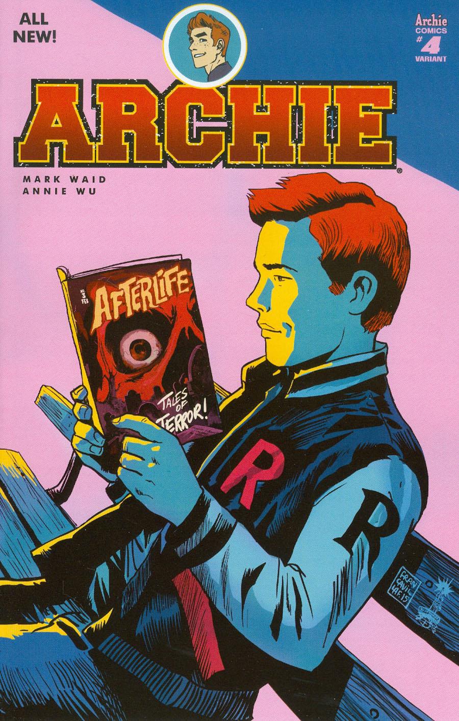Archie Vol 2 #4 Cover C Variant Francesco Francavilla Cover
