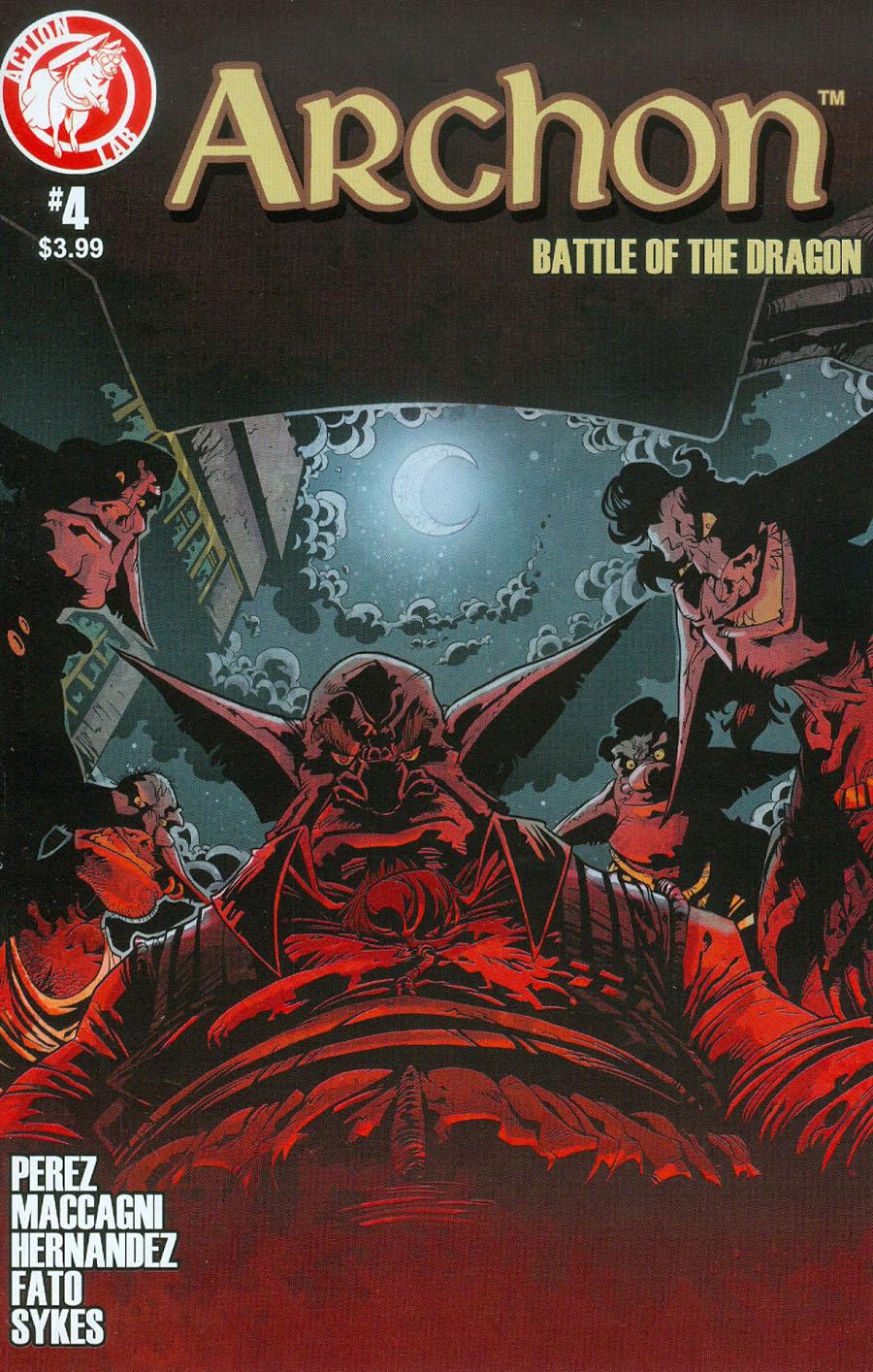 Archon Battle Of The Dragon #4