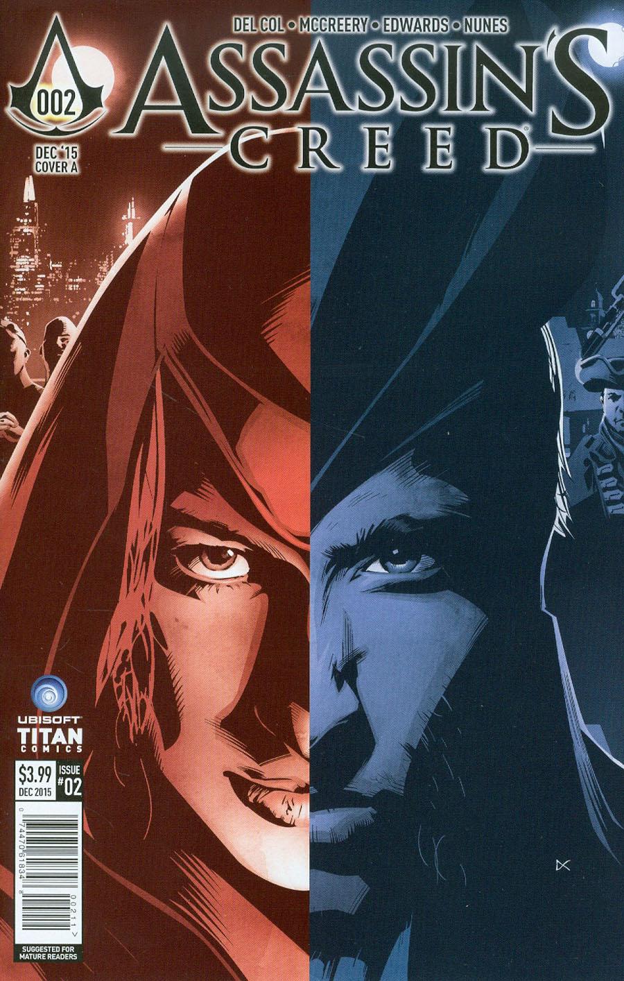 Assassins Creed #2 Cover A Regular Dennis Calero Cover