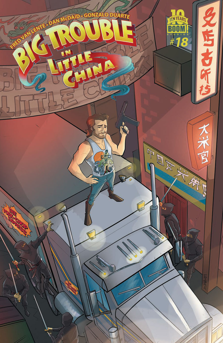Big Trouble In Little China #18 Cover A Regular Joe Eisma Cover