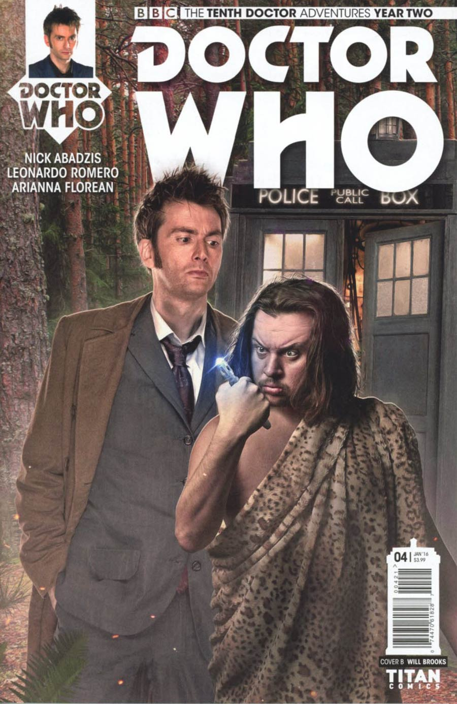 Doctor Who 10th Doctor Year Two #4 Cover B Variant Photo Subscription Cover
