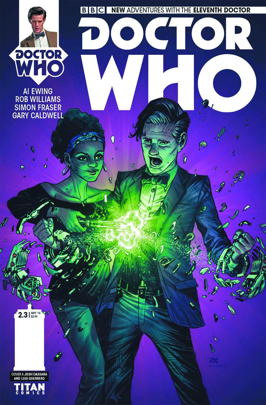 Doctor Who 11th Doctor Year Two #3 Cover A Regular Joshua Cassara Cover