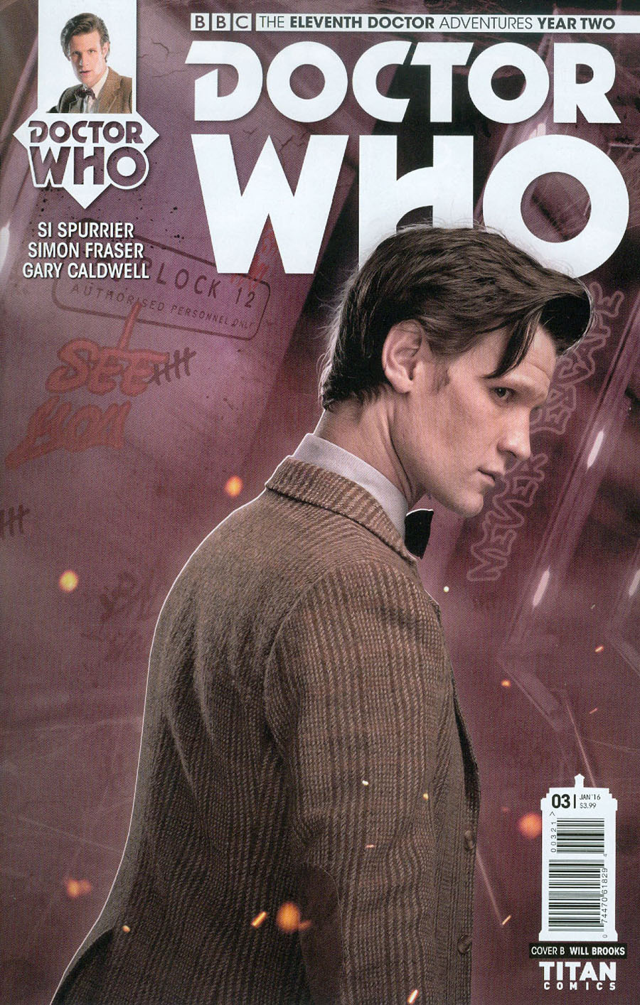 Doctor Who 11th Doctor Year Two #3 Cover B Variant Photo Subscription Cover
