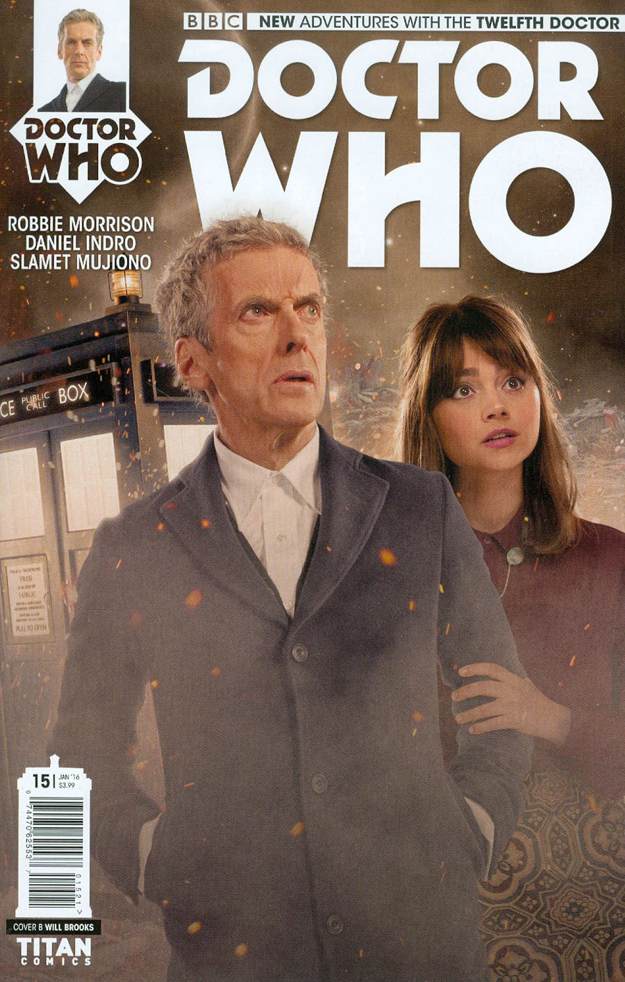 Doctor Who 12th Doctor #15 Cover B Variant Photo Subscription Cover