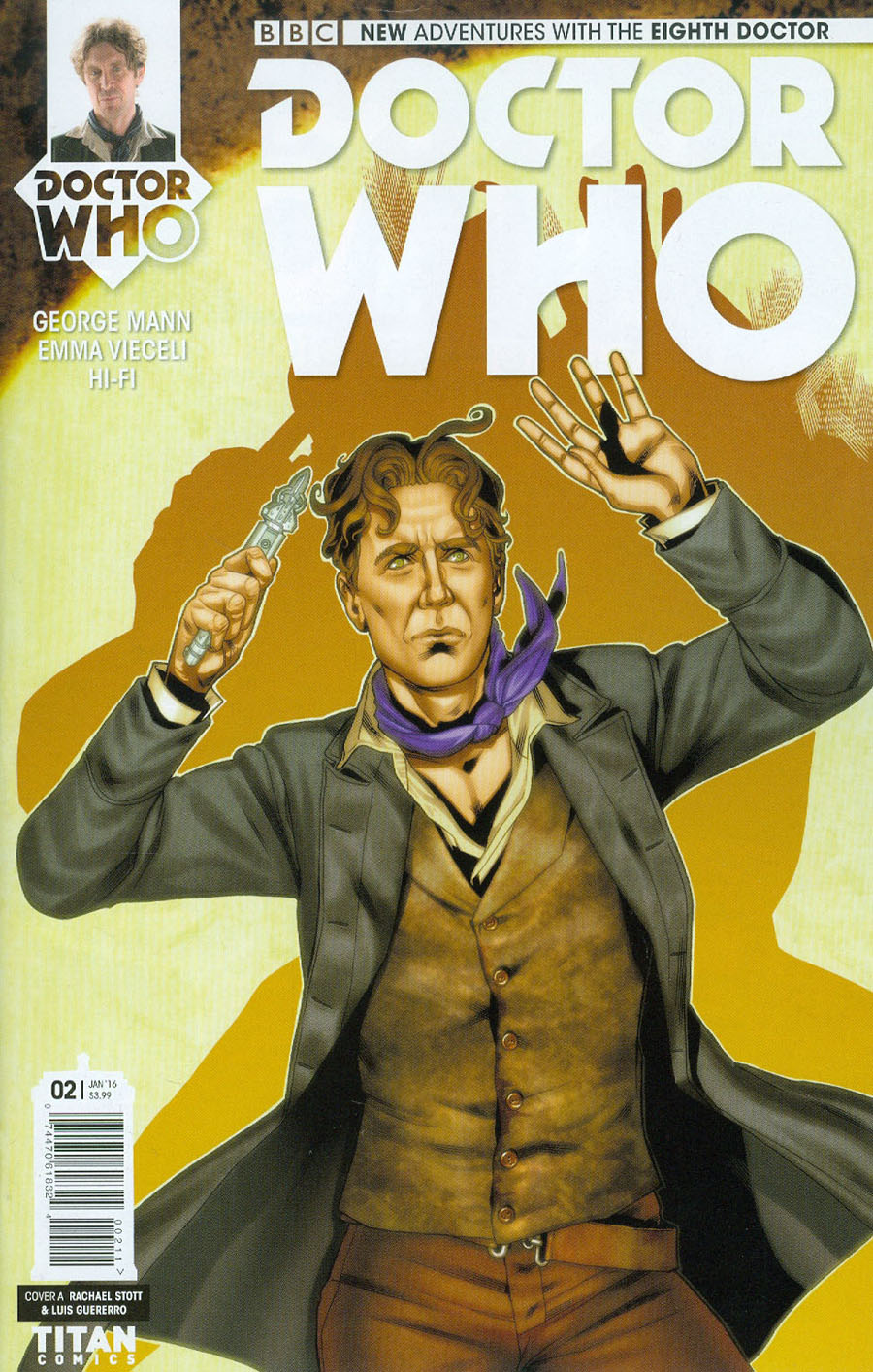Doctor Who 8th Doctor #2 Cover A Regular Rachael Stott Cover