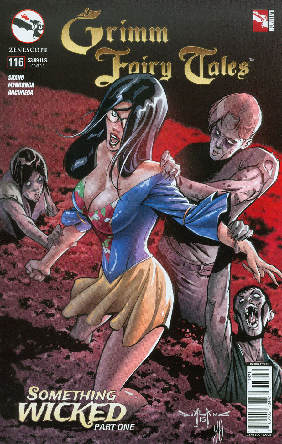 Grimm Fairy Tales #116 Cover B Pasquale Qualano