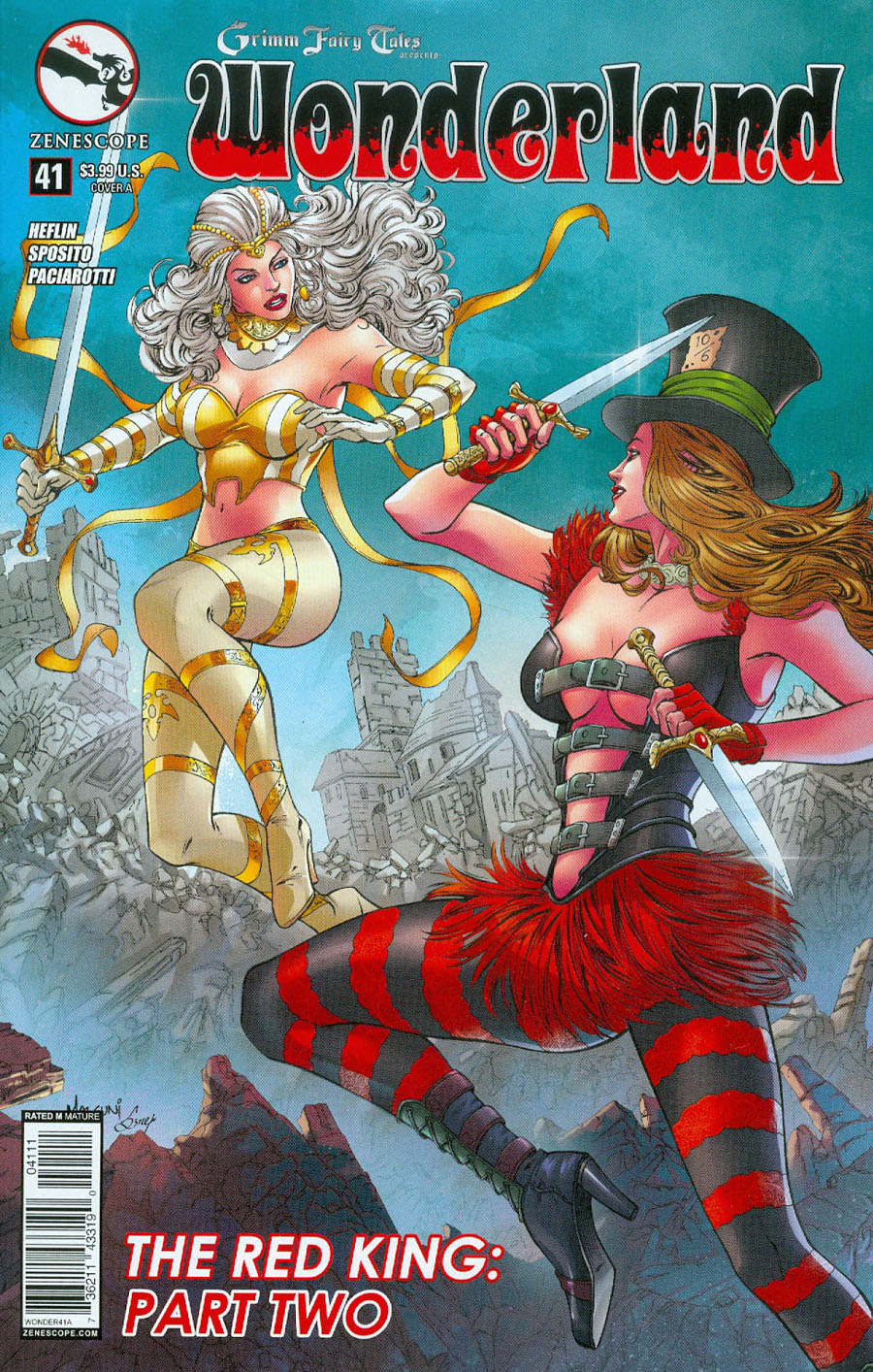 Grimm Fairy Tales Presents Wonderland Vol 2 #41 Cover A Abhishek Malsuni