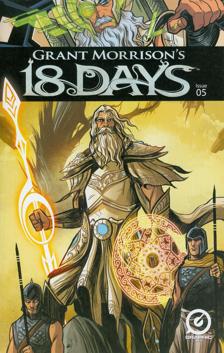 Grant Morrisons 18 Days #5 Cover A Regular Jeevan Kang Cover