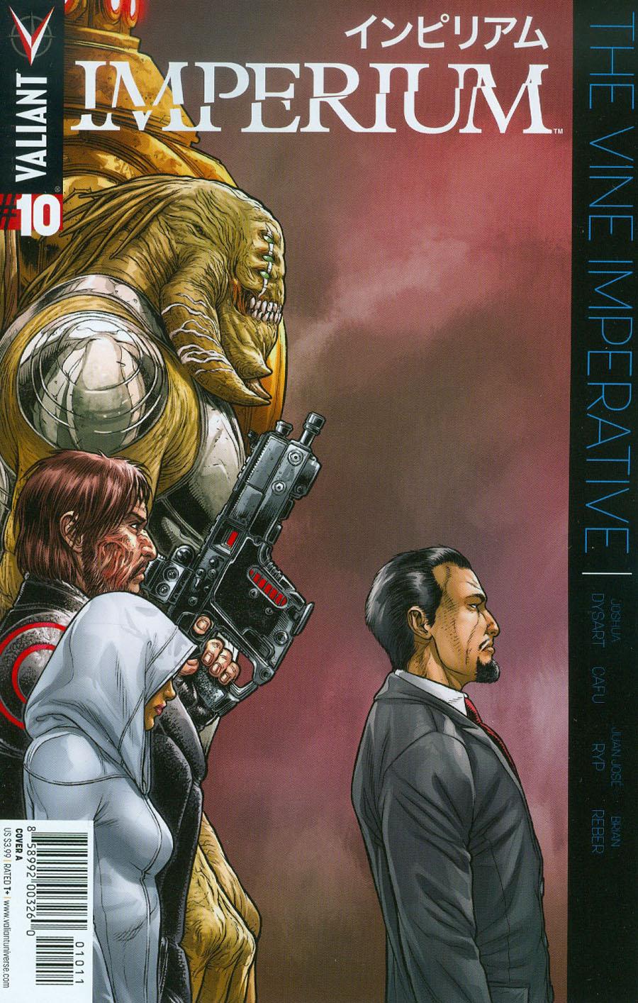 Imperium #10 Cover A Regular Juan Jose Ryp Cover
