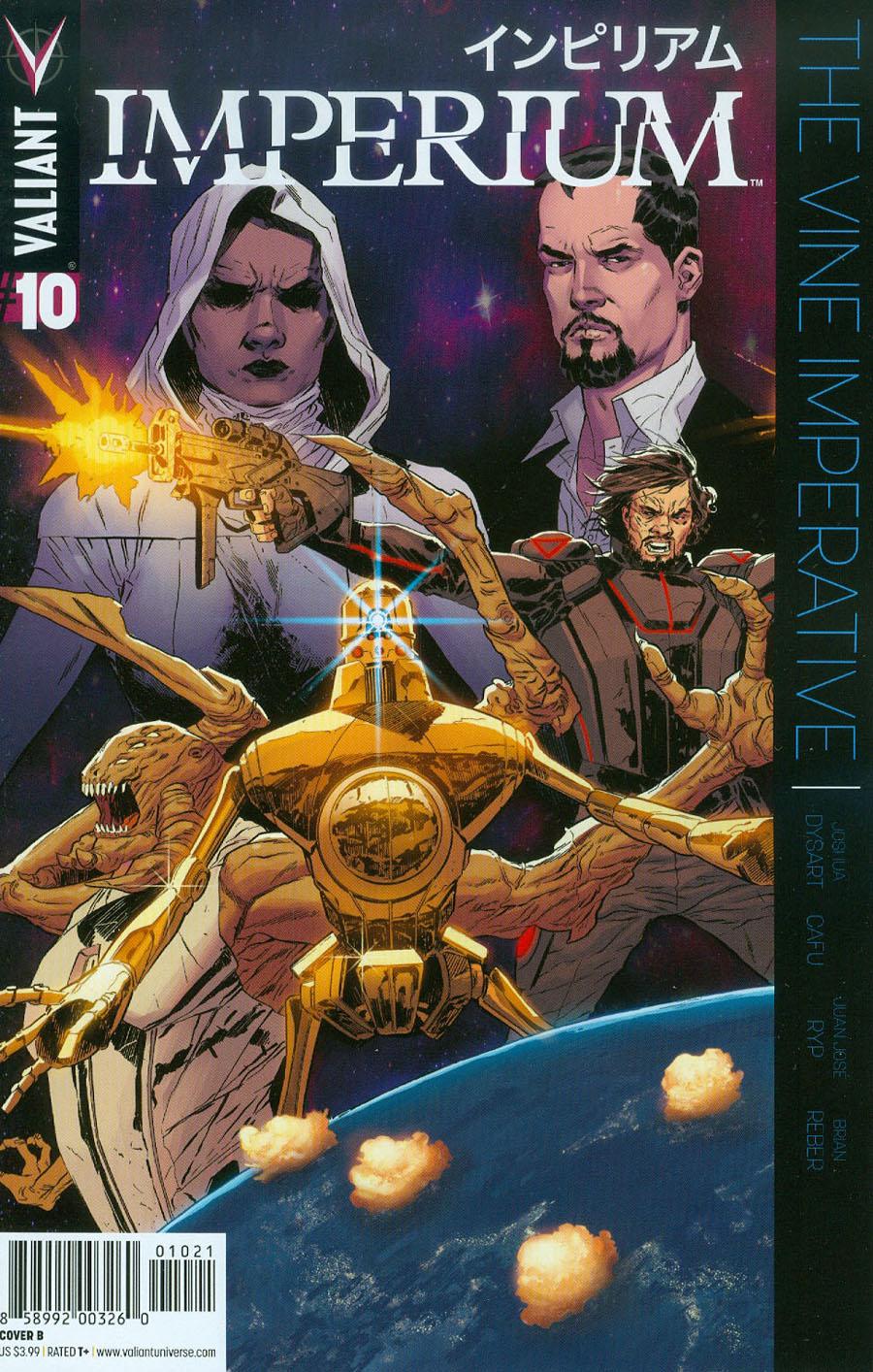 Imperium #10 Cover B Variant Bilquis Evely Cover